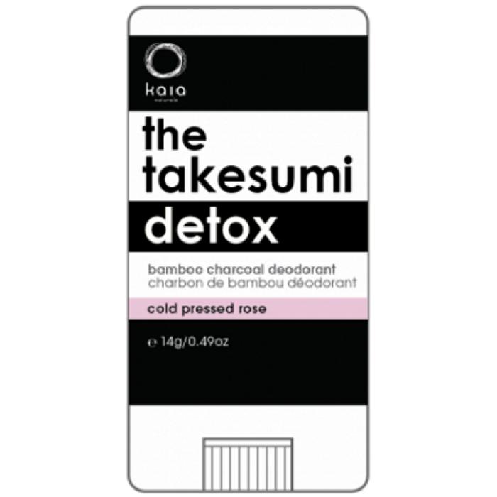 Kaia Naturals Takesumi Detox Deodorant Reviews