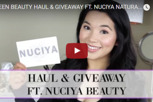 Nuciya Green Beauty Haul // AESTHETIKA
