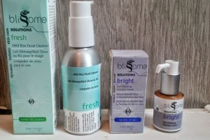 Blissoma Holistic Skincare: Fresh Mild Rice Cleanser & Bright Eye Vitalizing Nutrient Serum review