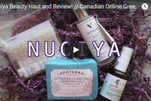 Nuciya Beauty Haul and Review // CrueltyFreeVeganBeauty