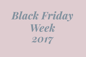 Black Friday 2017 Sale