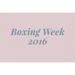 Boxing Week Event 2016