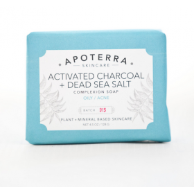 Activated Charcoal + Dead Sea Salt Complexion Soap