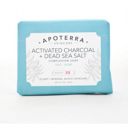 Activated Charcoal + Dead Sea Salt Complexion Soap Sample