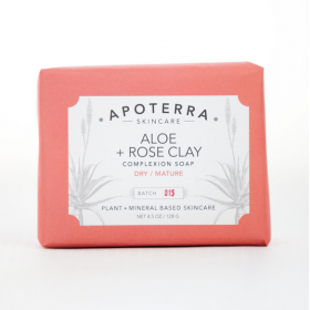 Aloe + Rose Clay Complexion Soap