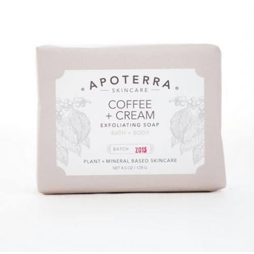 Coffee + Cream Exfoliating Soap