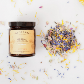 Herbal Detoxifying Steam with Flowers + Cleansing Herbs