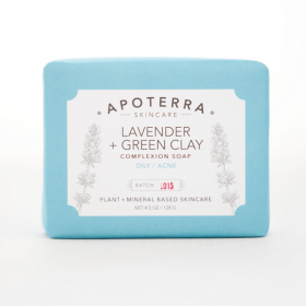Lavender + Green Clay Complexion Soap