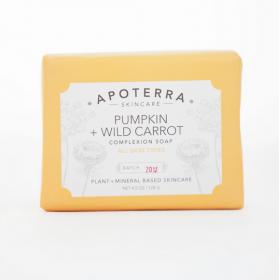 Pumpkin + Wild Carrot Complexion Soap