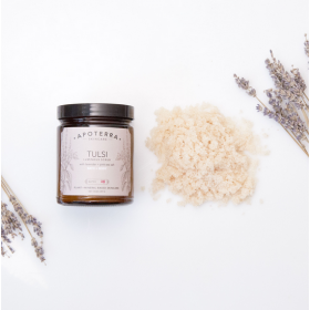 Tulsi Luminous Scrub With Lavender + Pink Sea Salt