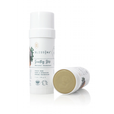 Scentless Stick Solid Natural Deodorant