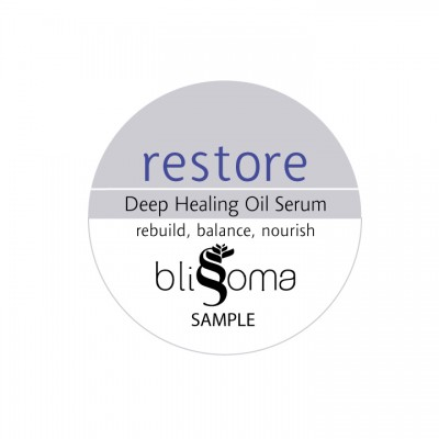 Restore - Deep Healing Oil Serum Sample