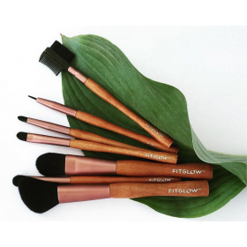 Vegan Brush Set by Fitglow