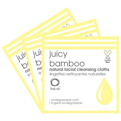 Juicy Bamboo facial cleansing cloth Sample