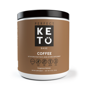 Perfect Keto Exogenous Ketone Base - Coffee