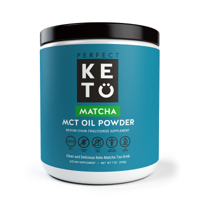 Perfect Keto  Matcha Latte MCT Oil Powder