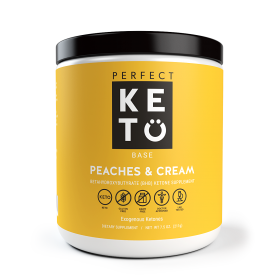 Perfect Keto Exogenous Ketone Base - Peaches and Cream