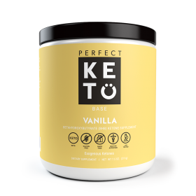 Perfect Keto Exogenous Ketone Base - Vanilla
