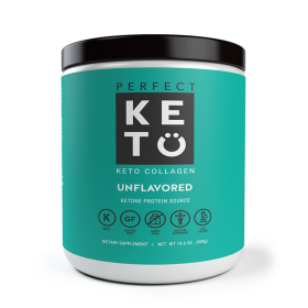 Perfect Keto Grass-Fed Keto Collagen (With MCT) Unflavored