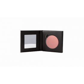 Sappho Single Blush/Powder Black Magnetic Single Compact