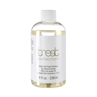 Gentle Nail Polish Remover (Soy Based) by Treat Collection