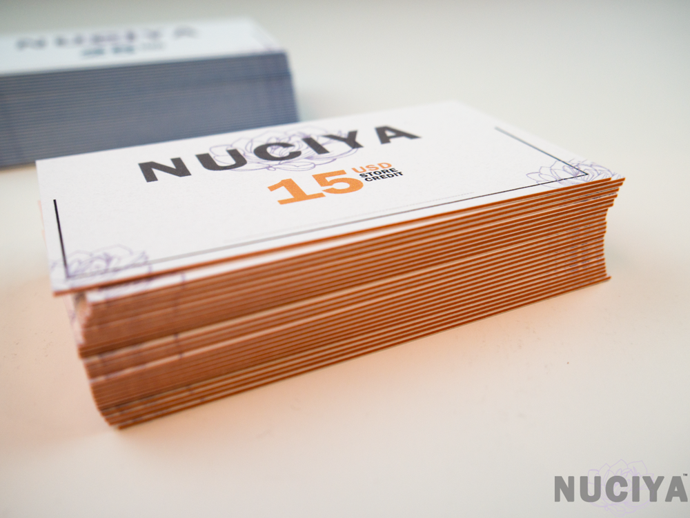Nuciya natural beauty Boxing Day 15 Gift Card